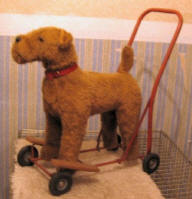 Dog On Wheels made by Pedigree